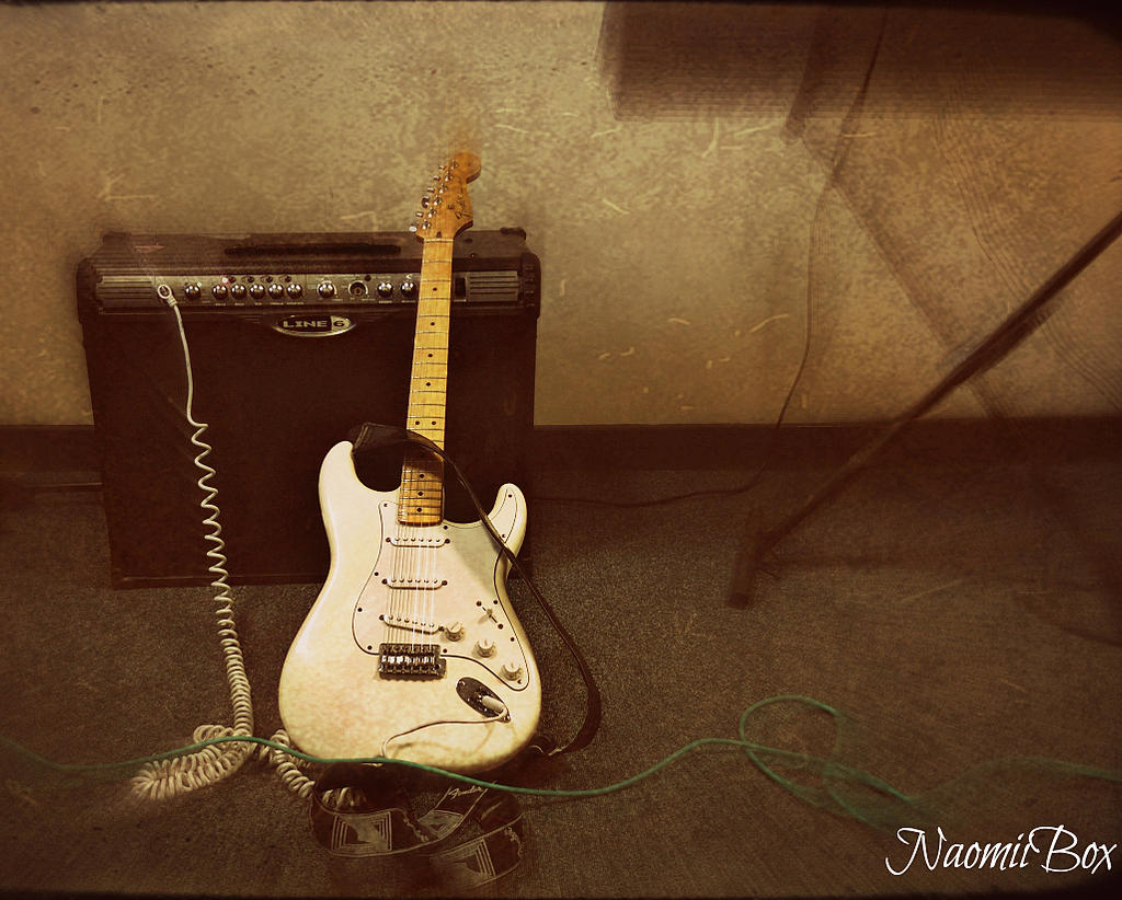 Fender Stratocaster by NaomiiBoxPhotography