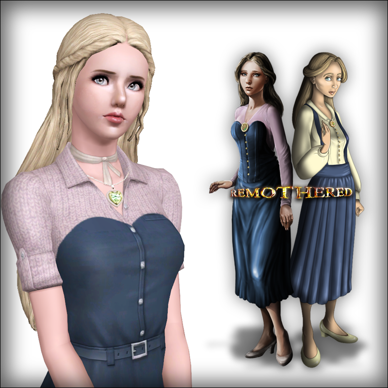 Jennifer Sutton from Remothered - For Sims 3 by D3N1ZFTW