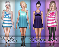 Bright Heart Top~ Customized by D3N1ZFTW
