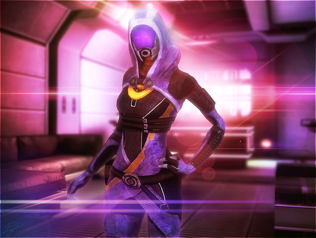 Mass Effect - Tali Zorah by D3N1ZFTW