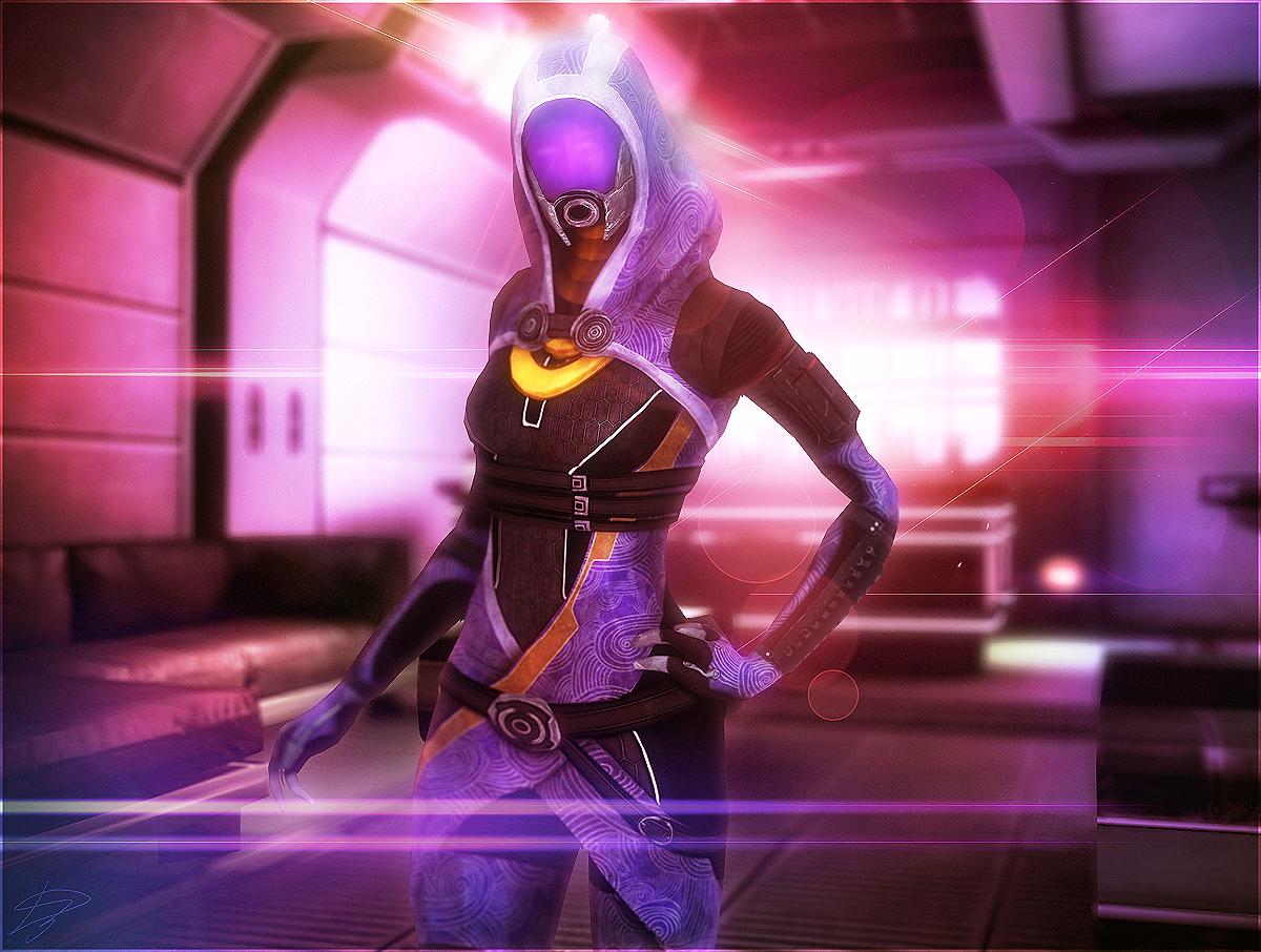 Mass Effect - Tali Zorah by D3N1ZFTW