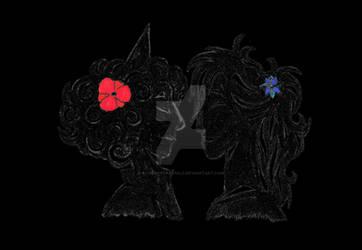 Lovers , In the dark (version 1)
