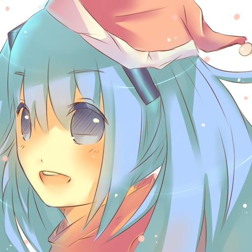 Christmas Miku by maya-kira