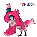 JolleRaptor- PinkBerry by KwiTheCat