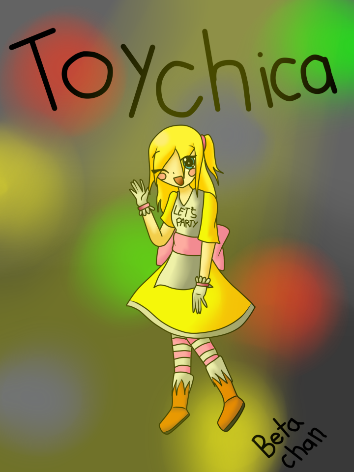 Toy chica fnaf 2 by betaxchanx3 on deviantart