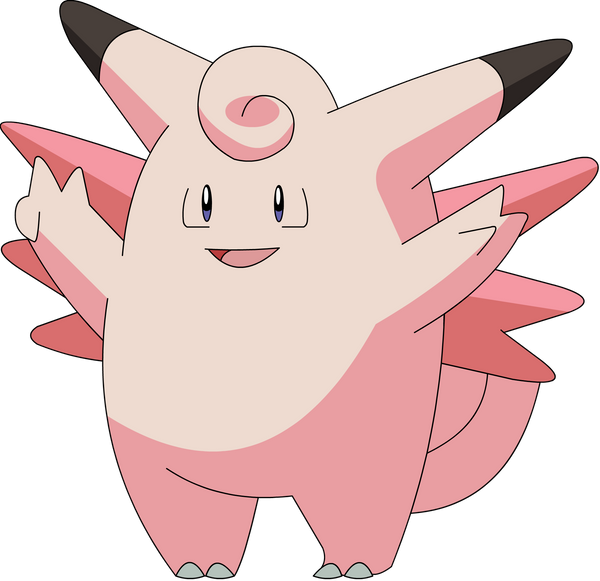 Clefable by pokesafari