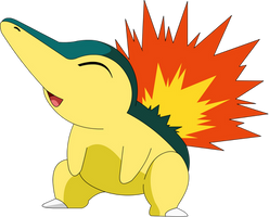 Cyndaquil by pokesafari