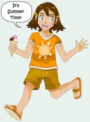 It's summer time - I mean it by pokesafari