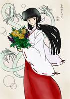 Coloring Book Kikyo by The-Bassoon-Godess