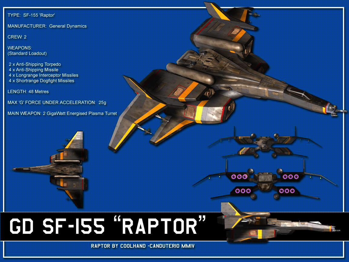 SF-155 Raptor Fact file by Canduterio
