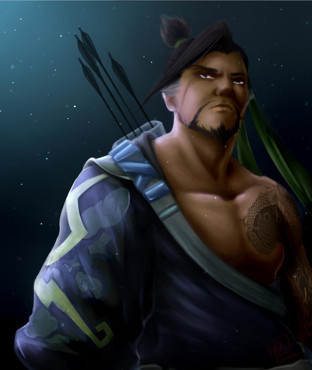 Hanzo Wallpaper: Hanzo-OVERWATCH By ZZshadowfoxZz On DeviantArt