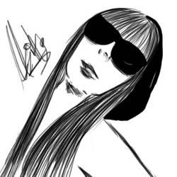 Lady Gaga by Asikao