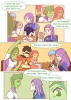 Titans: Refuge in Arkham #13 by samarasketch