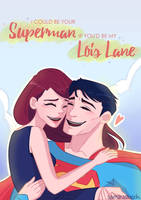 I could be your Superman by samarasketch