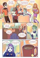 Titans: Refuge in Arkham #28 by samarasketch