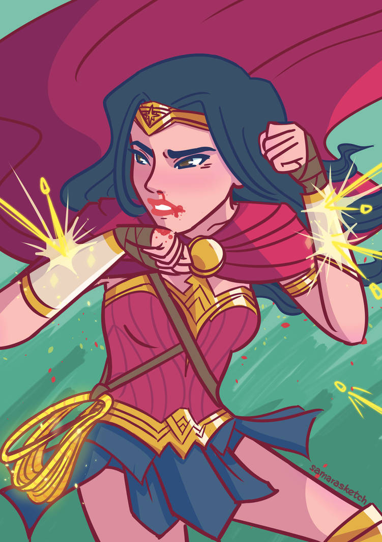 Wonder Woman: Warriors by samarasketch