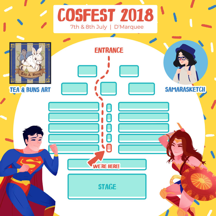 Cosfest Promo by samarasketch