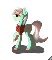 Lyra (now with 85% more adventure readiness) by Capseys