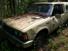 1985 Nissan 720 years later in 2017