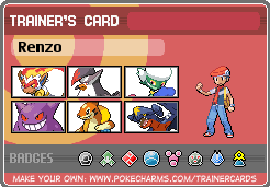 Pokemon Pearl Trainer Card by TimidNatured