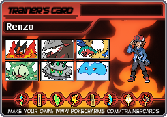My Pokemon White Team by TimidNatured