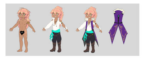 Chibi Ref Canaan by Zenzes