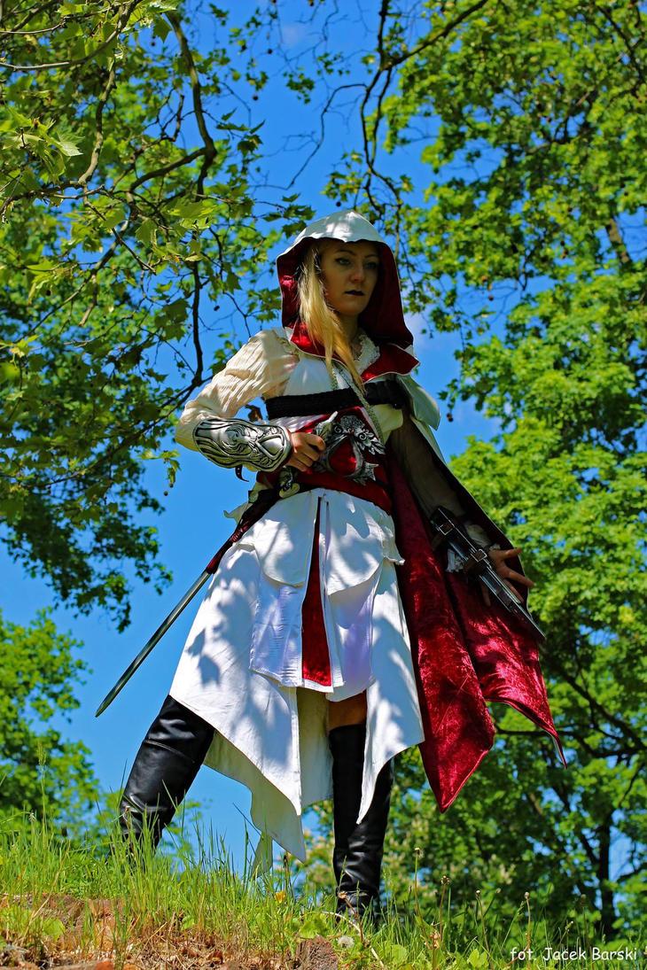 Ezio Auditore da Firenze cosplay - updated version by Luniwenor