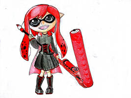 Inkling Ruby Rose by KirisakiJake