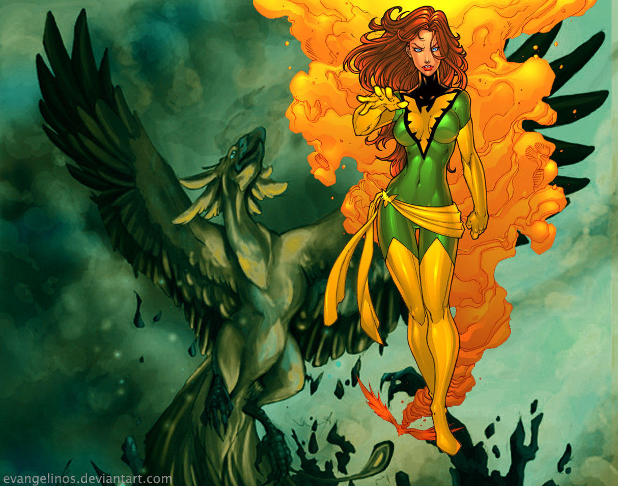 Phoenix Wallpaper by evangelinos
