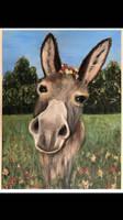 Animallove, cute donkey