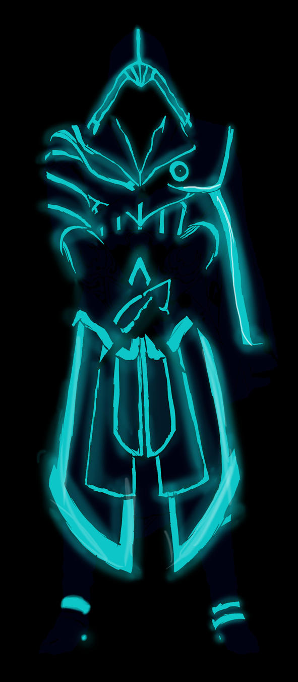 Ezio Auditore Tron Style by PanthersHonor