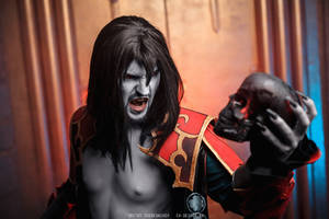 Castlevania: Lords of Shadow Dracula Cosplay by ondinesviolence