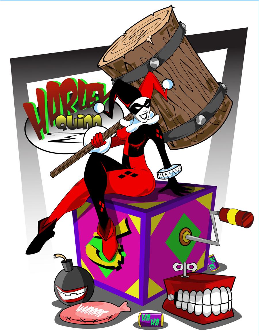 Harley Quinn by kudoze
