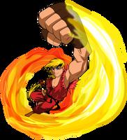 Street Fighter - Ken by kudoze