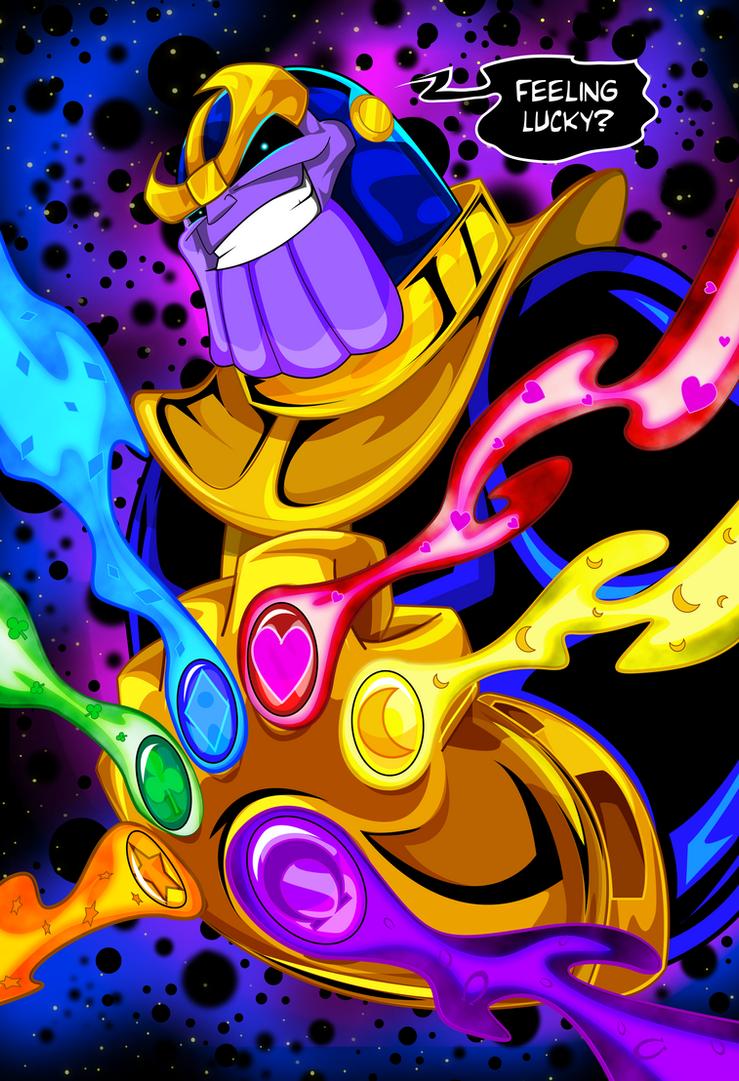 Thanos by kudoze