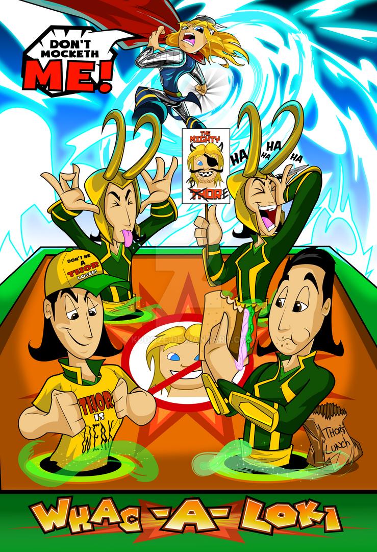 Loki Thor Battle by kudoze