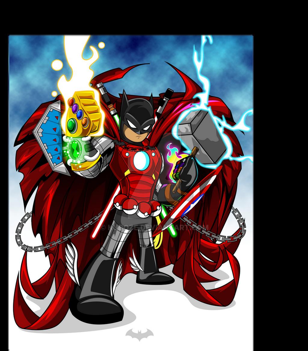 ultimate batman by kudoze on deviantart