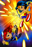 Black Widow Vs Wonder Woman