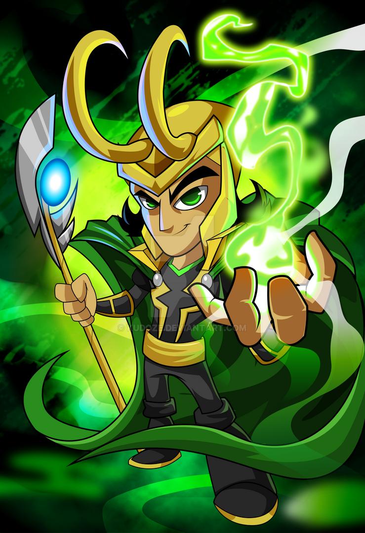 Loki by kudoze