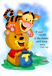 Winne the pooh and tigger too