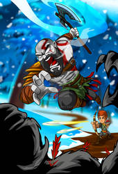 Kratos And Son