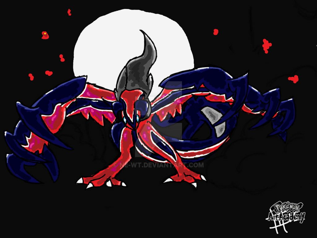Yveltal No Shinies by DragonMiner101