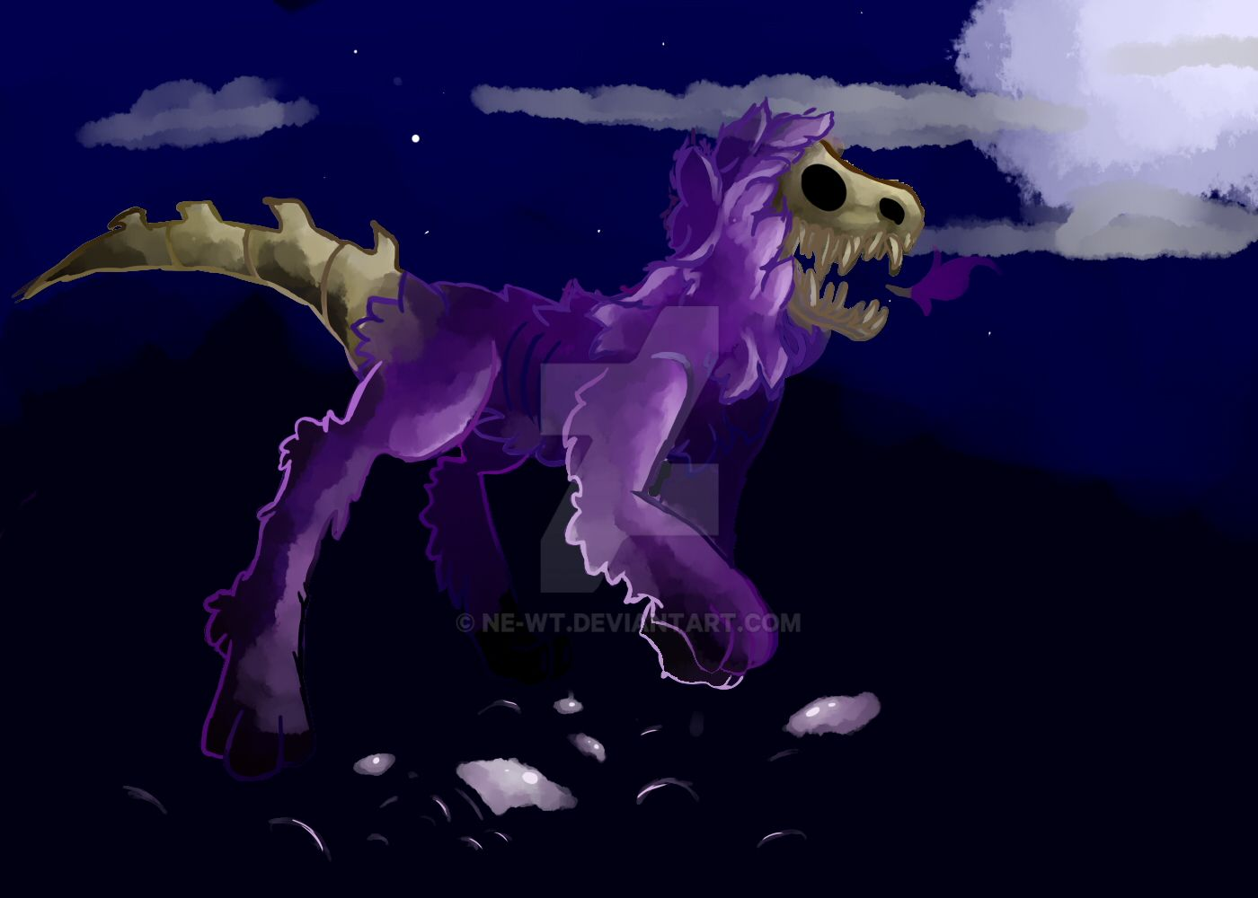 The Undead Night Walker by DragonMiner101
