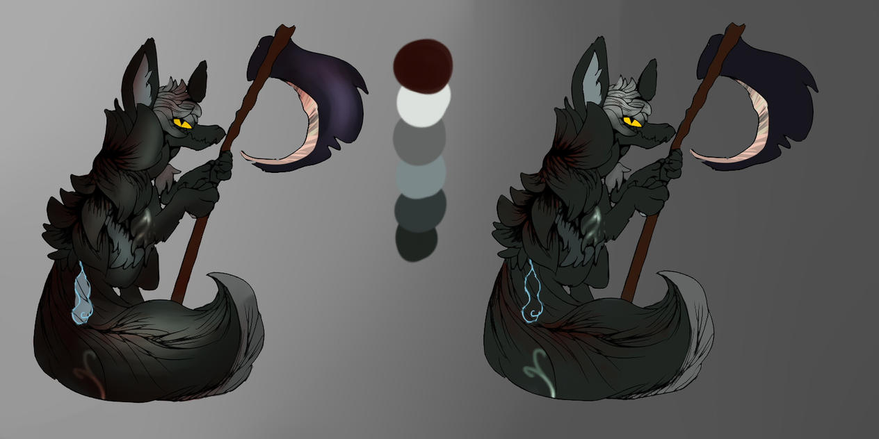 Grim Reaper Themed Adopt {closed} by Ne-wt