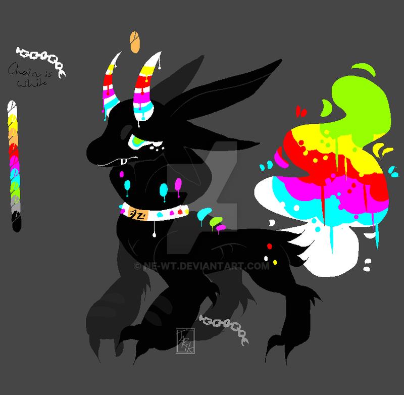 Random Ink creature Adopt 2 CLOSED by Ne-wt