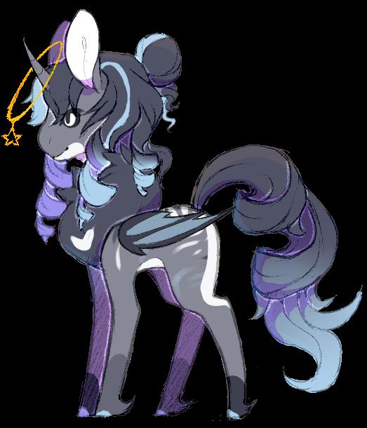 Star/Moon pony adopt {Closed} by Ne-wt