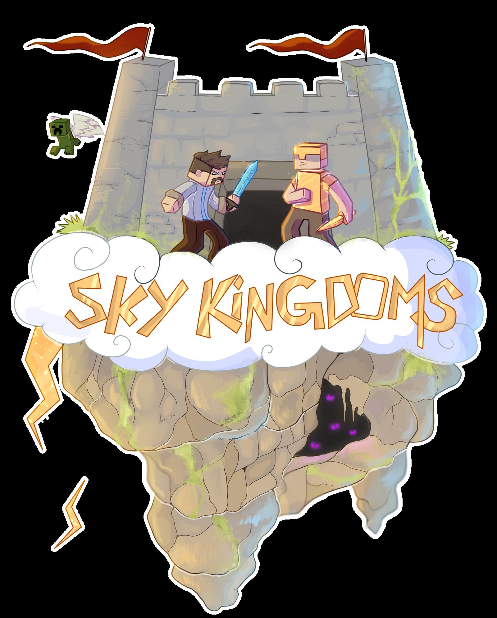 Sky kingdoms Logo {P} by Ne-wt