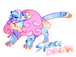 One off adopt: Tiger's Space Dream {OPEN}