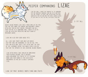 Lizae Species Reference by Ne-wt