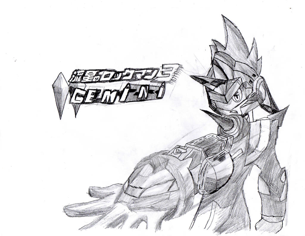 megaman starforce gemini noise by autumnbrush